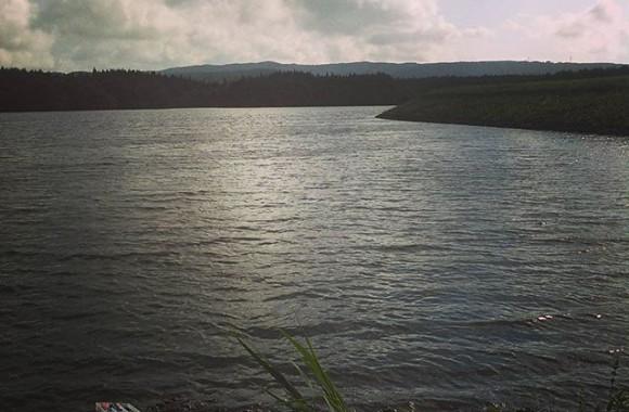 午後は高原で釣り。こちらも貸し切りだけど魚の気配も無し…他の池行くか~