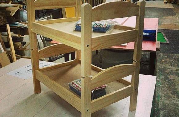 しょーもないもの作りました。二段ベッド for ねこ
