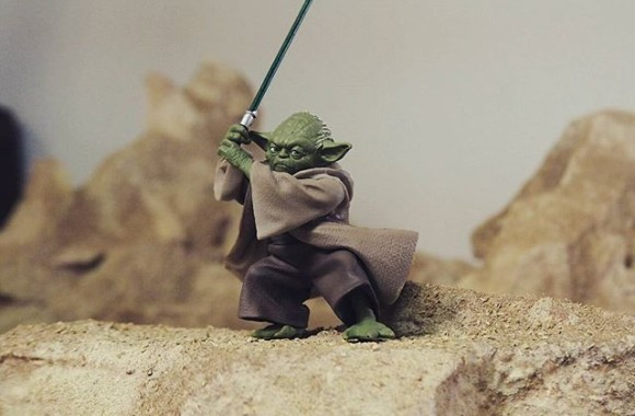 1/10 YODA #miniature #handmade #ミニチュア #figure #クラフト #ジオラマ #diorama #scalemodel #toys #model #gundam #modeling #toyslagram #scalemodels #art #starwars #geek #force