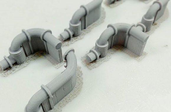 機械模型のパーツ