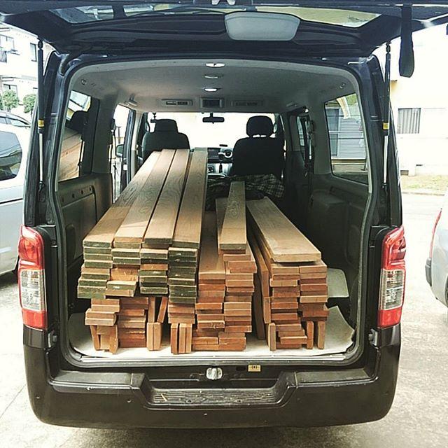使い道未定なのに製材済みのタモを3立米ほど購入!何作ろうかな~#atelier #wood#craft