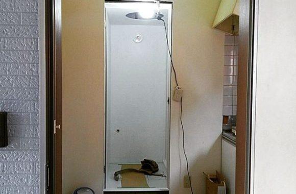 賃貸アパートの浴室入れ替え工事
