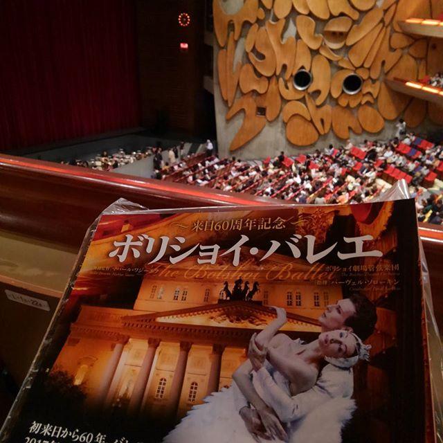 昼間は解体工、夜は何故かバレエを観劇に。ロビーの雰囲気がやんごとない。