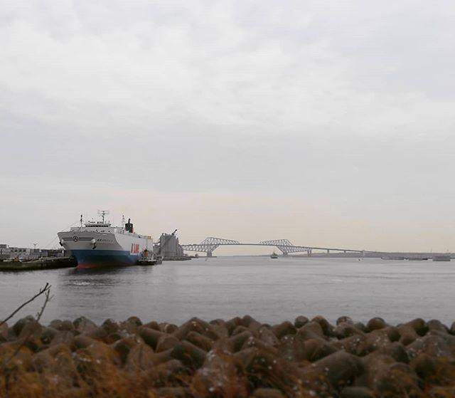 船はロマン.#tokyogatebridge #ship#sea