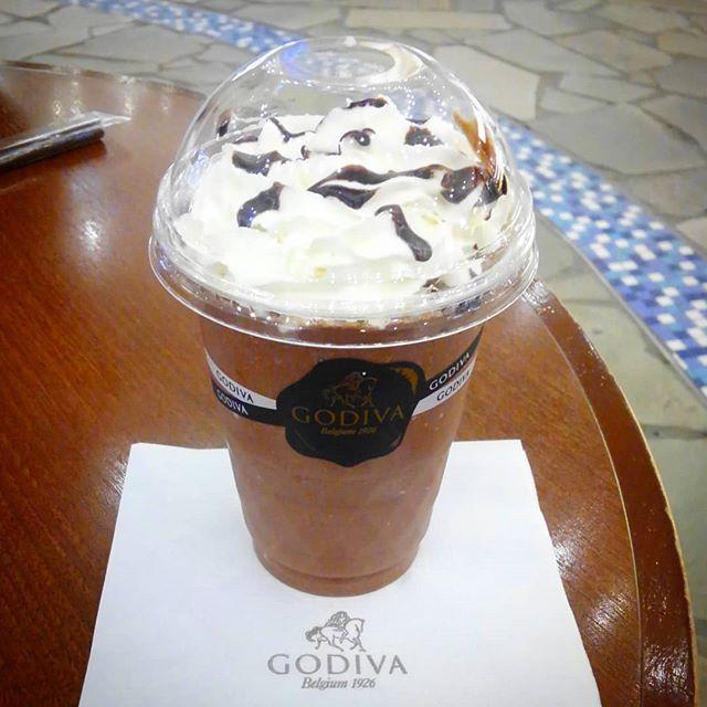 Dinner.#godiva #chocolate #sweet