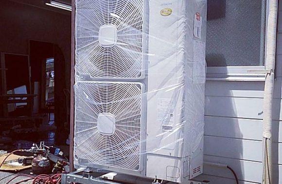 1STにエアコンが入りました