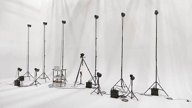 白ホリを全部バウンスに使用するというなんとも贅沢なライティング#lighting #shoot#photography