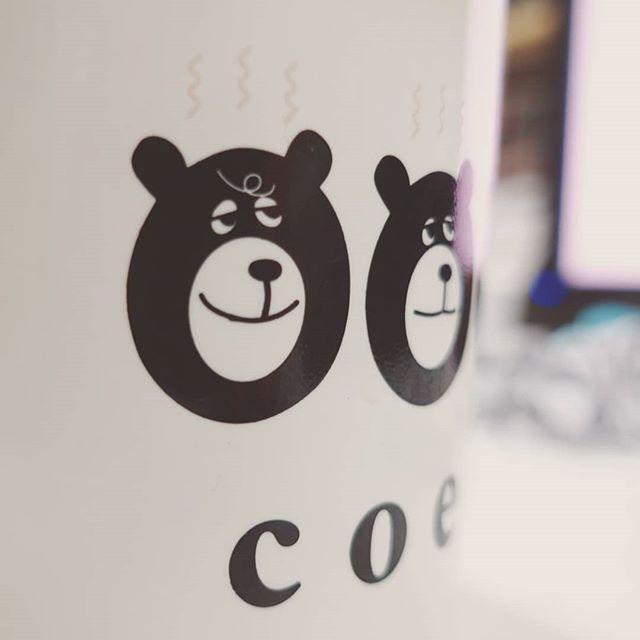 ドヤ顔#coen#coffee #bear