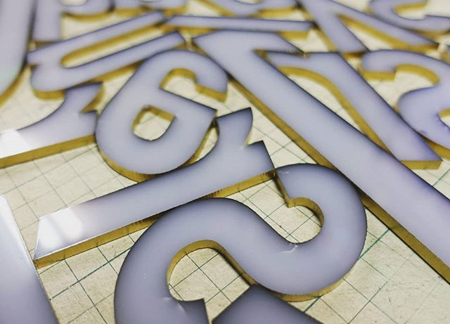 #fonts #back #acrylic #graphics