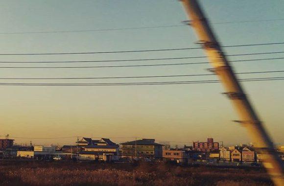 新幹線で名古屋へ