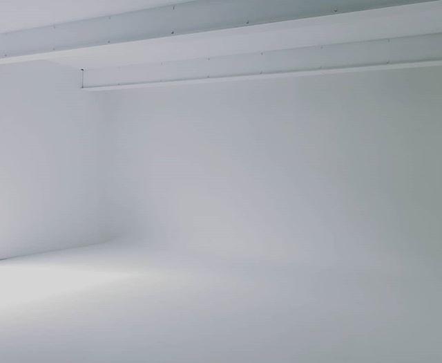 白ホリゾントのスペース完成しました。https://a-studio.asilart.com #studio #photo #photostudio #white #flat