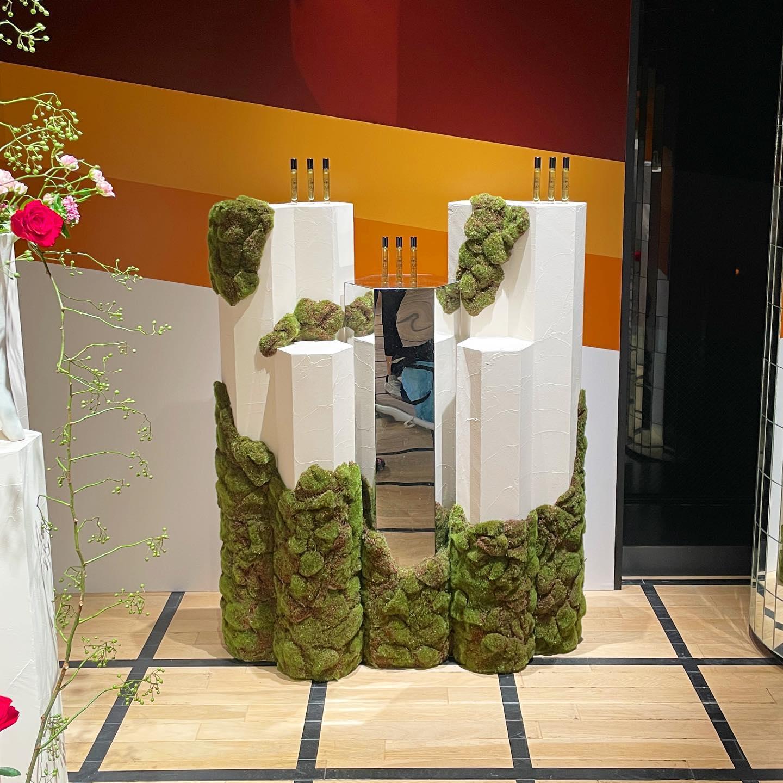 diptyqe60周年記念ポップアップ名も無き苔職人してきました。10月10日まで.⠀#ディプティック表参道 #dyptique #art⠀#craft⠀#artwork⠀#artoftheday⠀#artofinstagram⠀#artwork_in_studio ⠀#instaart #craftwork ⠀#craftsmanship ⠀#handmade
